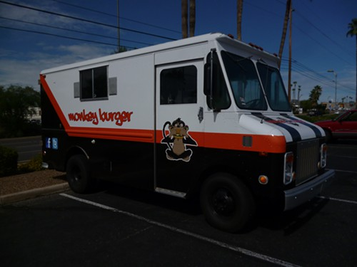 Monkey Burger even has its own food truck.