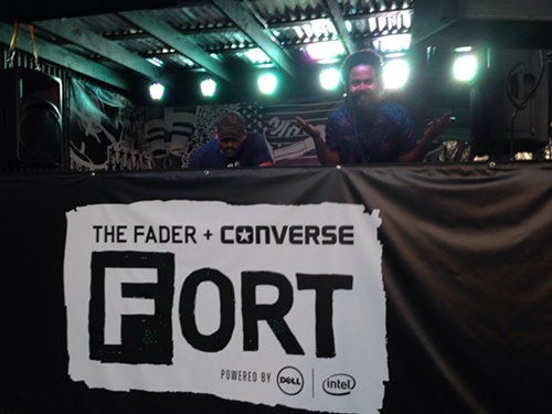Fader Fort opening night: DJs, steak sliders and Blue Hawaiians