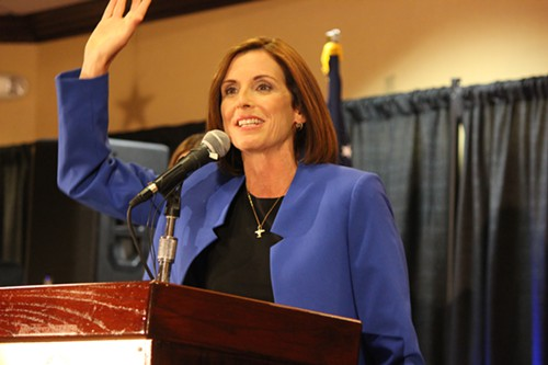 Martha McSally (R-Ariz.) thanks voters for their participation on Election Day 2014.